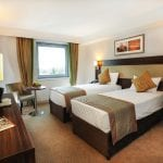 Heston Hyde Heathrow Twin bedroom