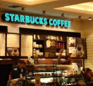 Sheraton Skyline Heathrow Airport Starbucks
