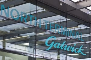 Gatwick North Terminal Sign
