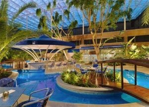 The Pool Bar at the Sheraton Skyline Hotel Heathrow Airport